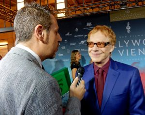 Hollywood in Vienna 2017 - Gorka Oteiza interviews Danny Elfman (Red Carpet)