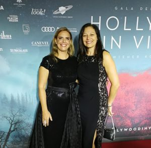 Hollywood in Vienna 2017 - Sandra Tomek & Laura Engel (Red Carpet)