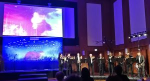 Hollywood in Vienna 2017 - Brass octet at the SSV Reception with Jonannes Voguel
