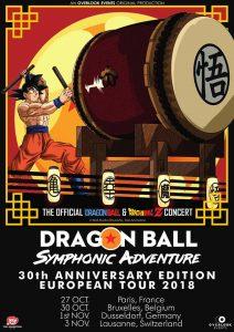 Dragon Ball Symphonic Adventure - Tour 2018 - Poster