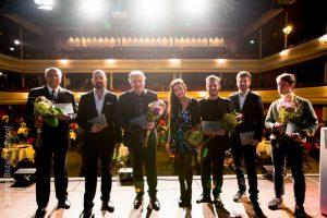 Trevor Jones, Oli Biehler, Harold Faltermeyer, Caroline Adler, David Reichelt, Nicolai Krepart, Simon Rummel - Foto - © Joachim Blobel
