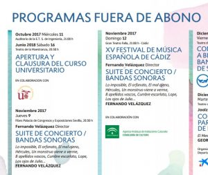 ROSS - Fernando Velázquez - Programa