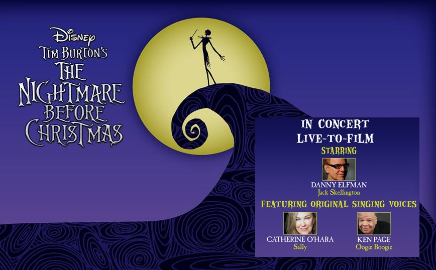 the nightmare before christmas movie in concert with danny elfman and the original cast - Voice Of Jack Nightmare Before Christmas