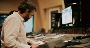 Sergio Moure de Oteyza - En el estudio