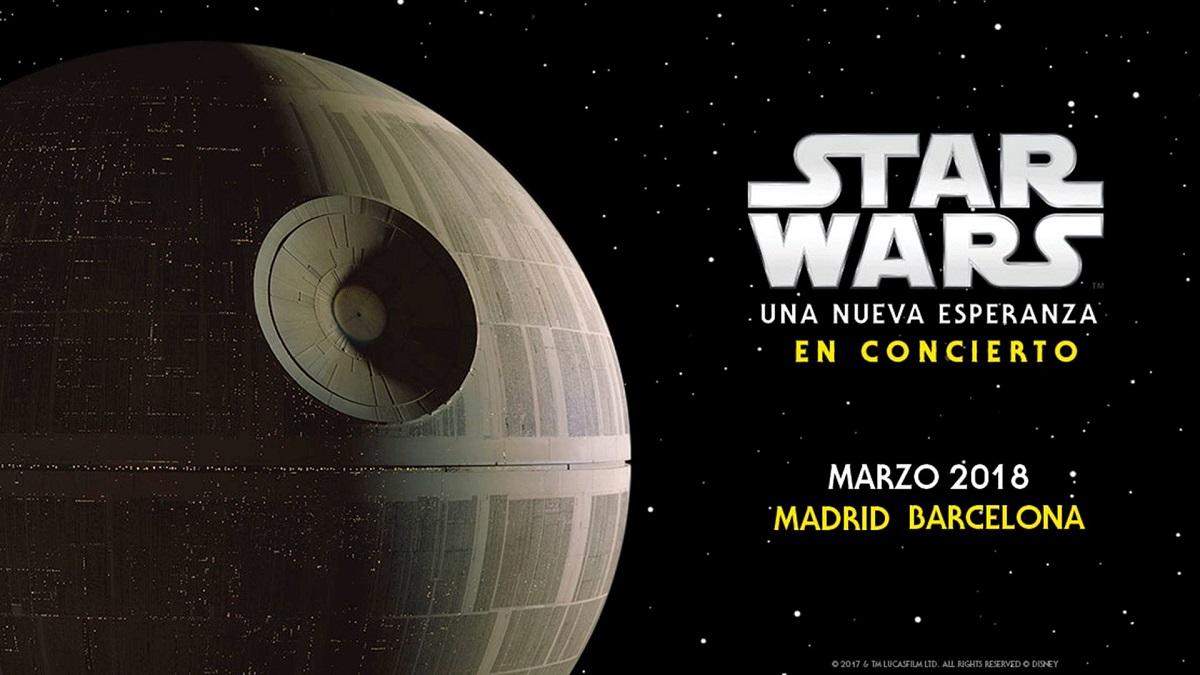 Star wars: una nueva esperanza en concierto #starwars #sw  #unanuevaesperanza #concierto