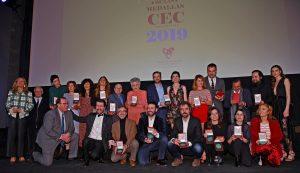 Premios CEC 74ª Edición - Foto de grupo