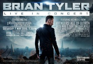 Brian Tyler - Live in Concert 2016 - Poster