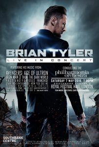 Brian Tyler - Live in Concert 2016 - Poster (Vertical)