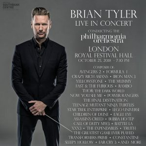 Brian Tyler Returns - Live in Concert - London 2018 - Promo