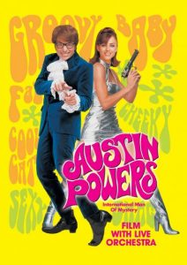 Austin Powers - UK Tour 2018 - Poster