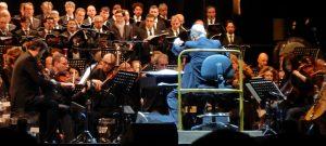 Ennio Morricone - Turin 2018 - Ennio Morricone conducting