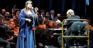Ennio Morricone - Turin 2018 - Susanna Rigacci and Ennio Morricone
