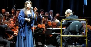 Ennio Morricone y Dulce Pontes - Turín 2018
