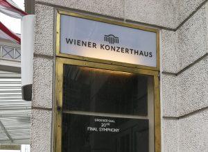Final Symphony - Vienna 2018 - Wiener Konzerthaus - Poster