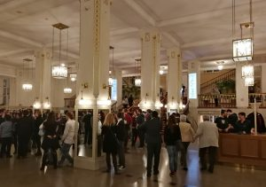 Final Symphony - Vienna 2018 - Entrance to the Konzerthaus