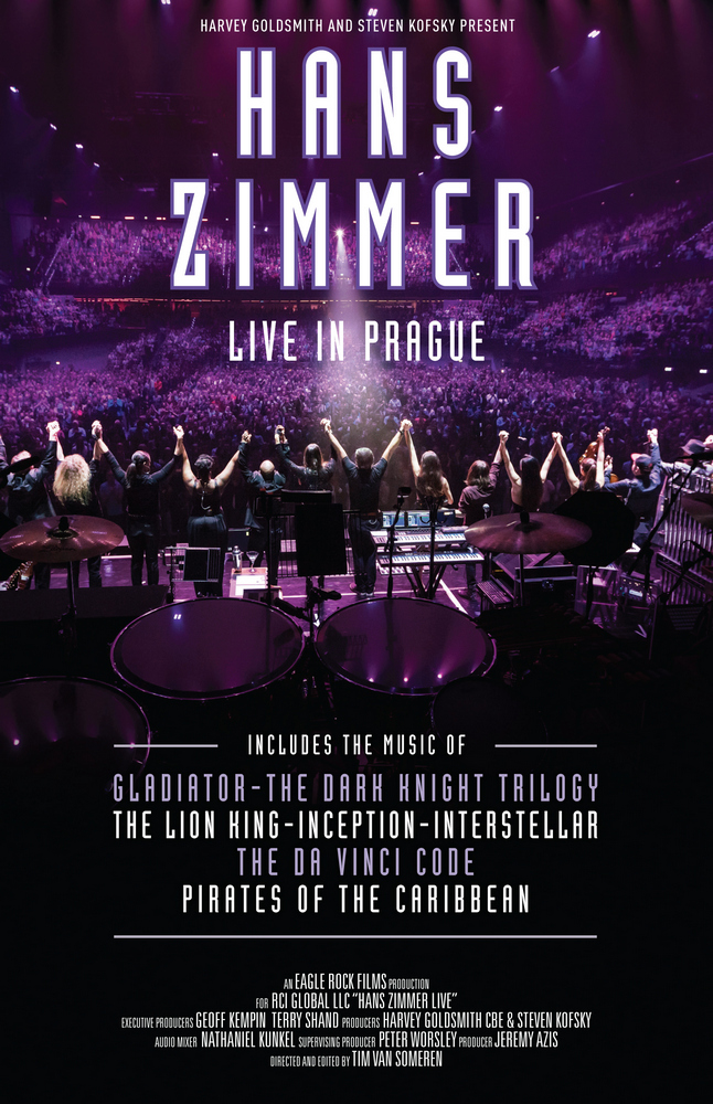 Hans Zimmer Live In Prague Concert Available On