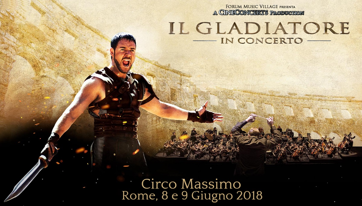 gladiator in concert at circus maximus in rome italy soundtrackfest