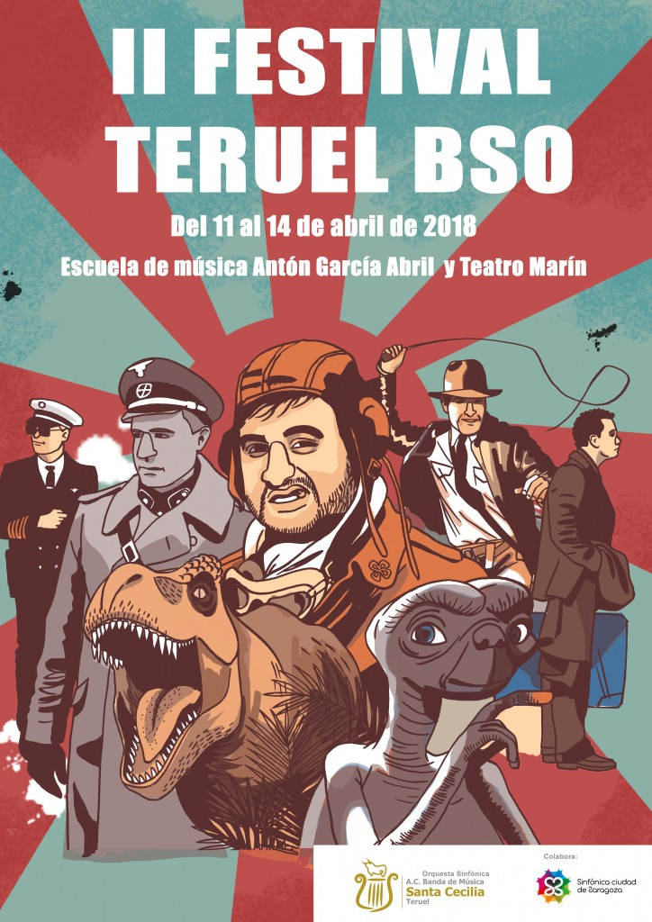 2nd Edition Of The Teruel Ost Festival Steven Spielberg And John