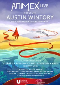 Animex Live 2018 - Austin Wintory - Poster