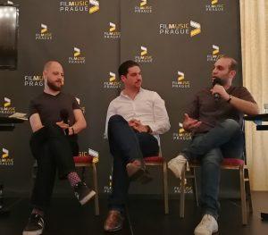 Film Music Prague 2018 - Conferences - Tim Greiving, Roman Kariolou & Ilan Eshkeri