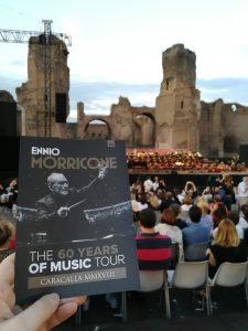 Ennio Morricone - Roma 2018 - Termas de Caracalla