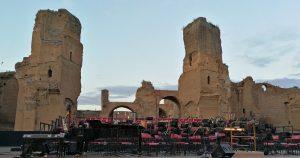 Ennio Morricone - Roma 2018 - Escenario y Ruinas de la Termas