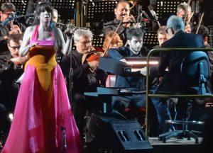 Ennio Morricone - Roma 2018 - Concierto con Susanna Rigacci