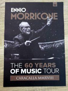 Ennio Morricone - Roma 2018 - Programa (Frontal)