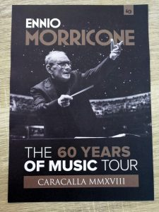 Ennio Morricone - Rome 2018 - Program (Front)