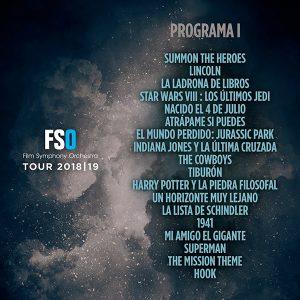 FSO Tour 2018-2019 - Prog. 1