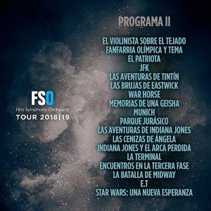 FSO Tour 2018-2019 - Prog. 2