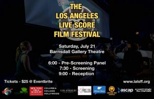 Los Angeles Live Score Film Festival - Planning