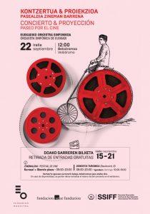 Concert 'Paseo por el Cine' at the San Sebastian Festival 2018 - Poster