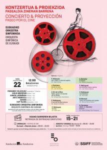 Concierto 'Paseo por el Cine' en el festival de San Sebastián 2018 - Programa