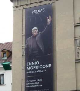 Ennio Morricone - Prague Proms 2018 - Cartel