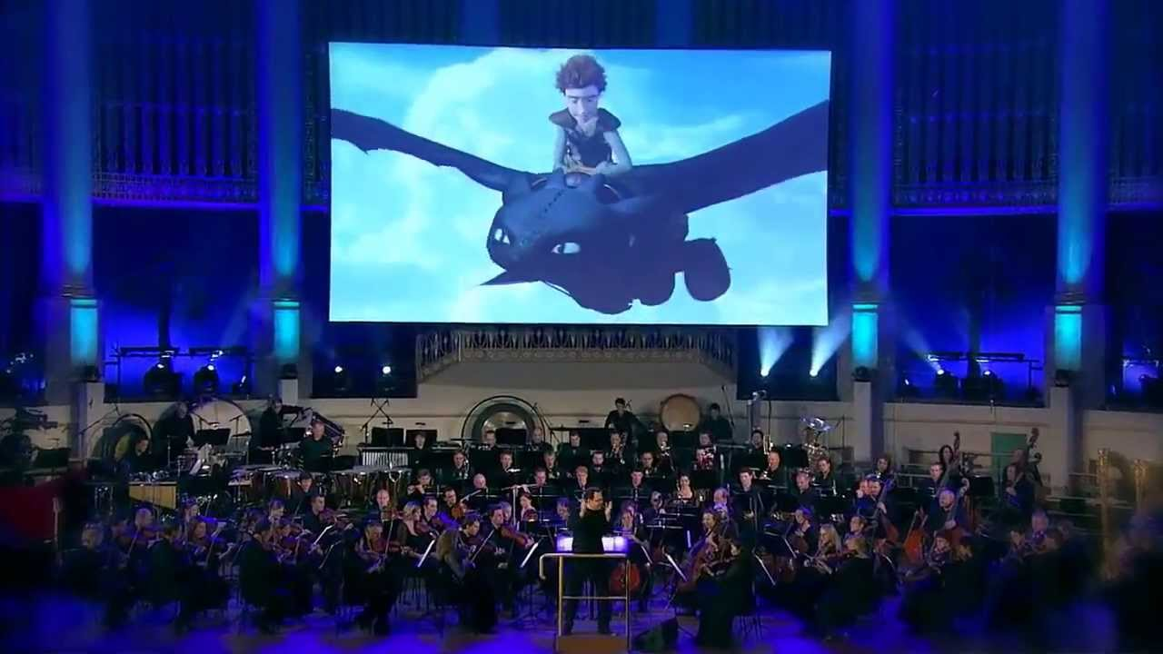 World premiere of how to train your dragon in concert in film presented on the big screen english with german subtitles with composer john powells academy award nominated score performed live to picture ccuart Gallery