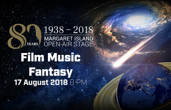 Film Music Fantasy concert conducted by Nic Raine at the Budapest