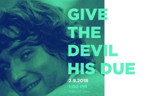 Soundtrack Podebrady 2019 - Give the Devil His Due