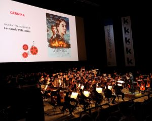 Concert 'A Walk Through Film' - San Sebastian 2018 - Gernika