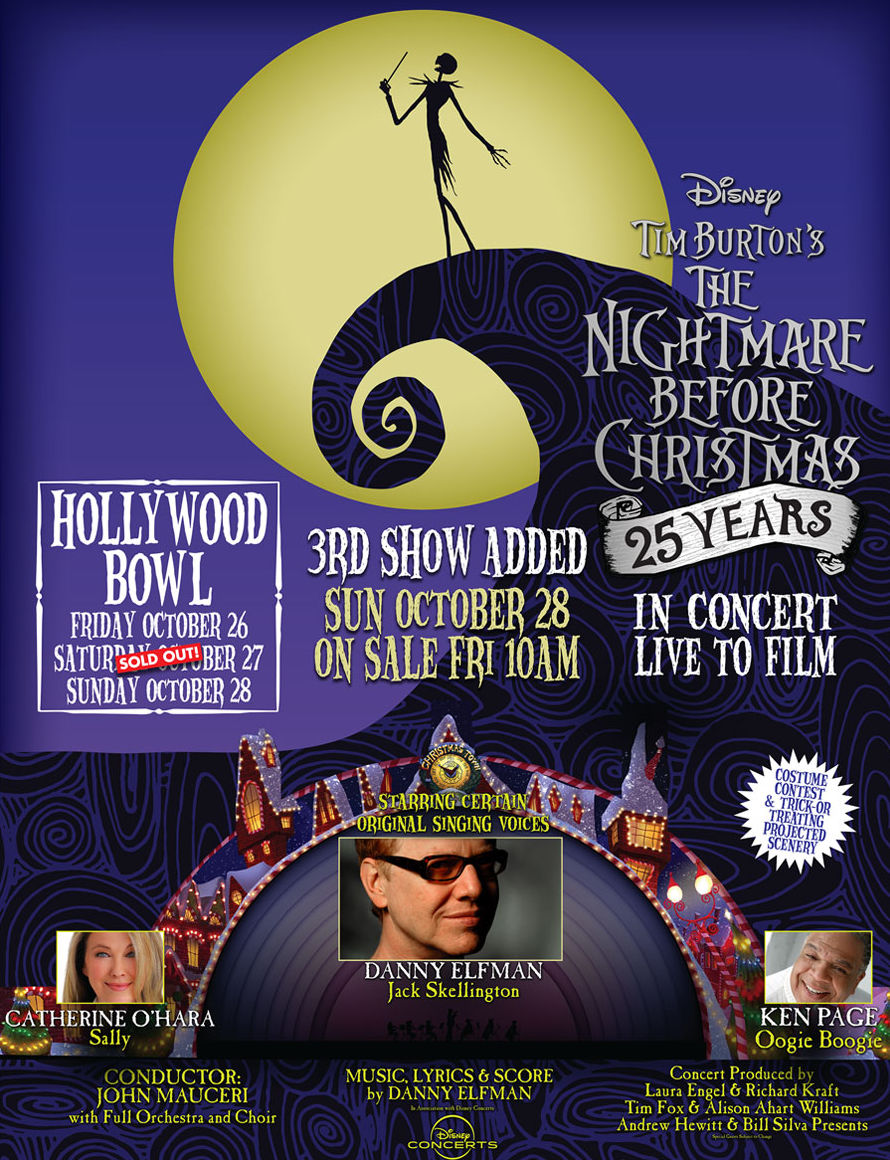 Danny Elfman: Halloween – The Nightmare Before Christmas\' – 25th ...
