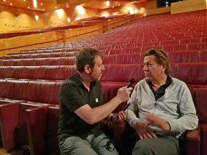 West Side Story Bilbao 2018 - Gorka Oteiza entrevistando a Ernst Van Tiel