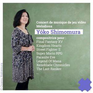 Cross Dreams Festival 2018 - Yôko Shimomura