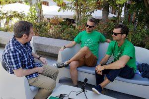 FIMUCITÉ 12 - Gorka Oteiza entrevistando a Ben Foster y Nick Foster