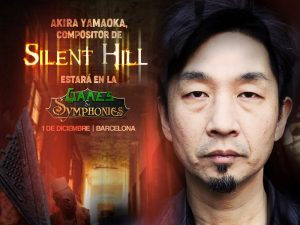 Games&Symphonies at the Barcelona Games World 2018 - Akira Yamaoka