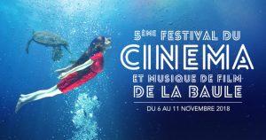 Festival Cinéma & Musique de Film de La Baule 2018 - Banner