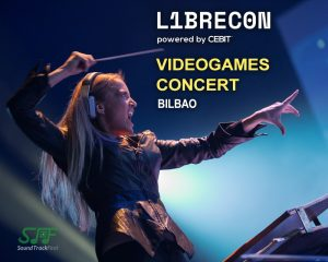 Librecon Videogames Concert with Eimear Noone in Bilbao (Spain)