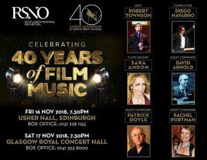 Conciertos 40 aniversario Varèse Sarabande en Escocia - Artistas invitados