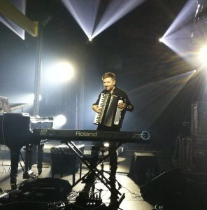 Atli Örvarsson - Interview - Torrek - Playing accordion - Krakow FMF 2018