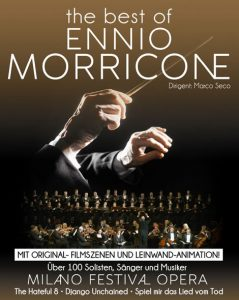The Best of Ennio Morricone - Tribute concerts in January 2019 - Poster