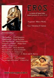 EROS - Cine Concerto - Programa